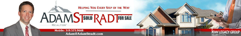 Adam Stradt - REALTOR® Real estate listings in the Cedar Rapids real estate market.